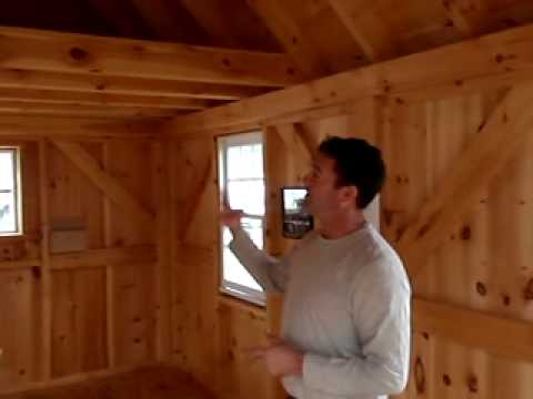 Pine Harbor Wood Products: Large Custom Sheds/Buildings