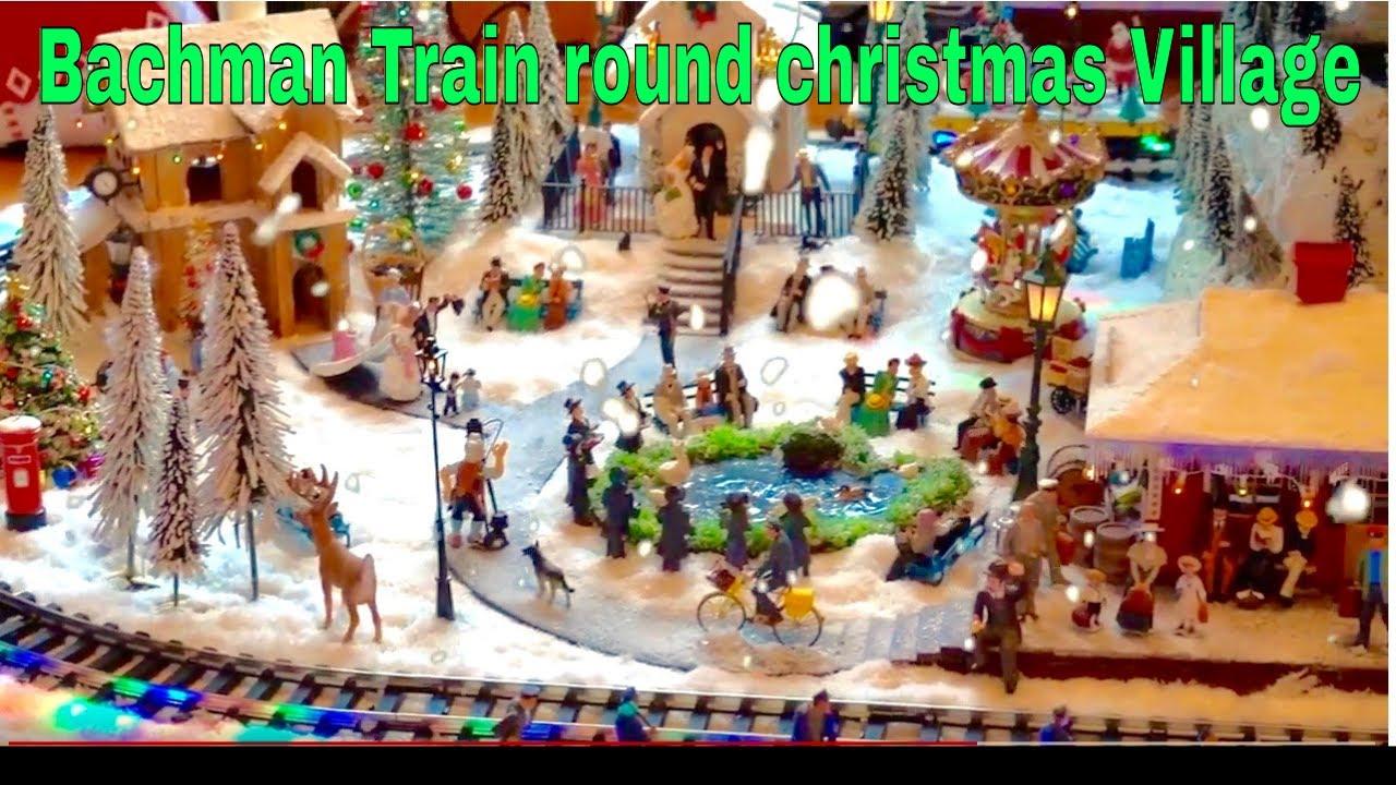 The Bachman Christmas Train Set - YouTube