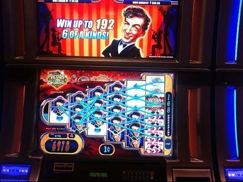 WMS' Dean Martin's Vegas Shindig slot machine - Bonus Round and past nice wins