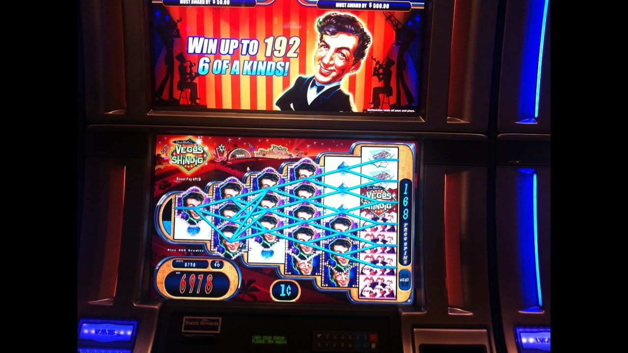dean martin slot machine