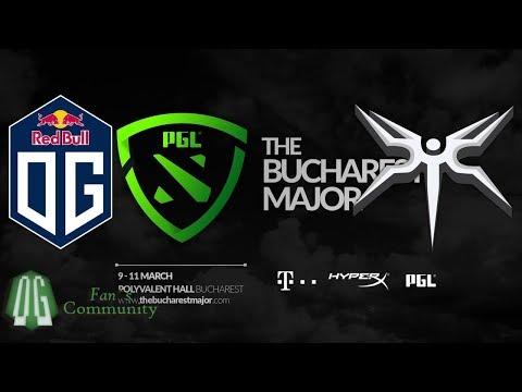OG vs Mineski -  Game 1 - The Bucharest Major - Group Stage