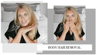 LASER HAIR REMOVAL | My body hair removal routine, experience & tips | Freya Farrington