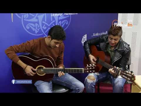 إيهاب أمير - حبيبي هجرني و راح@Ihab Amir & Yassine Benfeddoul - Acoustic Live