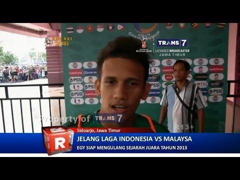 TRANS7 JATIM - Egy DKK Siap Libas Malaysia di Semifinal AFF U 19 2018