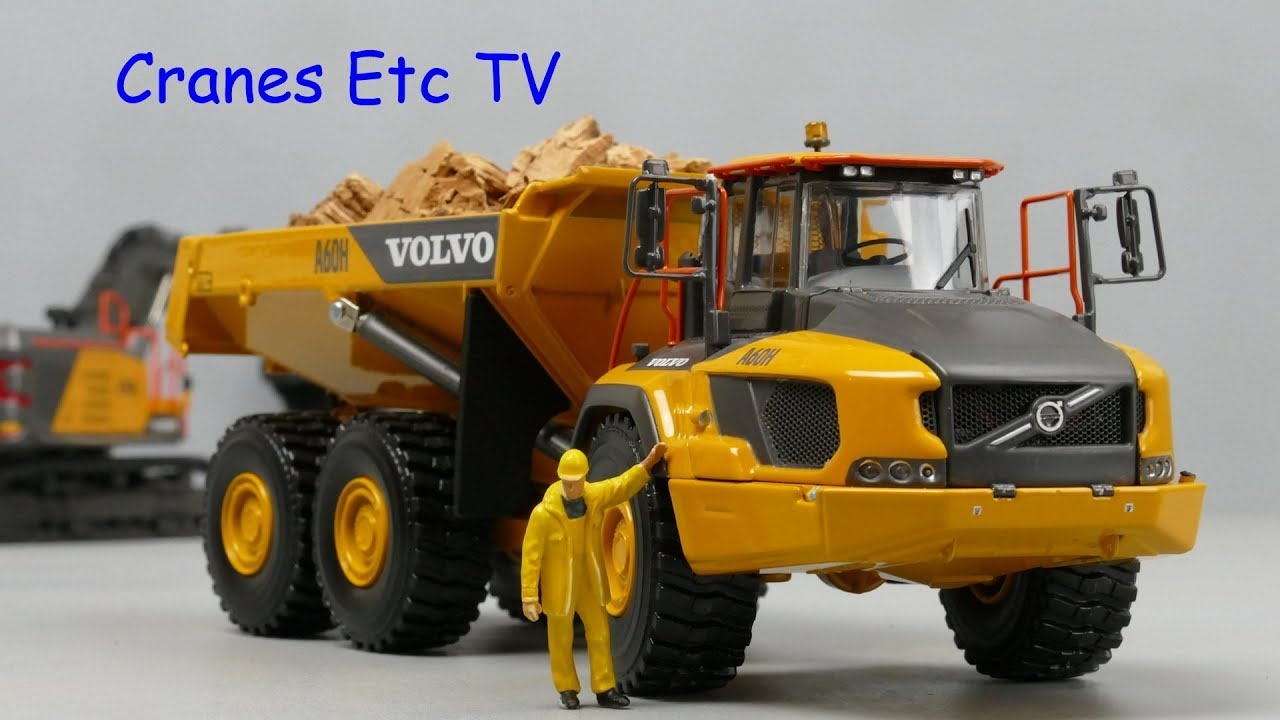 wsi volvo a60h articulated hauler by cranes etc tv youtube. Black Bedroom Furniture Sets. Home Design Ideas