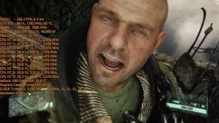 Crysis 3 Bottleneck test low settings Xeon E5-2630 V4 10 Core@2476Mhz Turbo 3200Mhz 970 g1 gaming