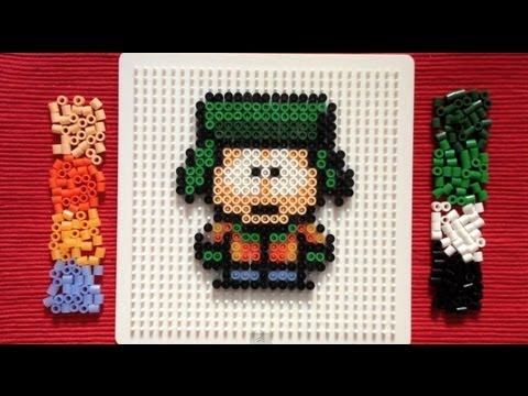 Perler Bead Tutorial South Park Kyle