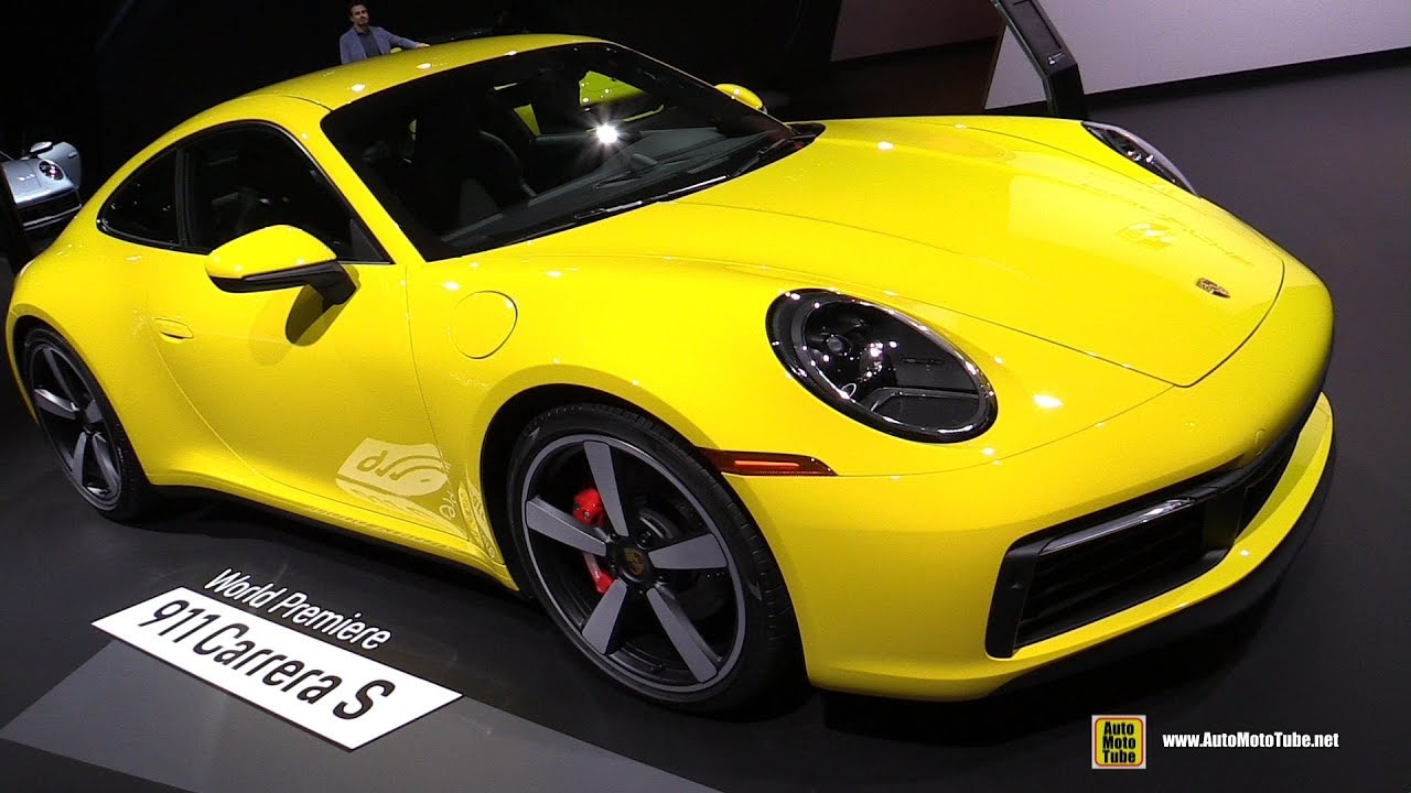 2020 Porsche 911 Carrera S 992 Exterior And Interior Walkaround