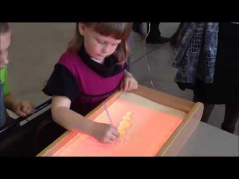 Световой планшет для рисования на песке