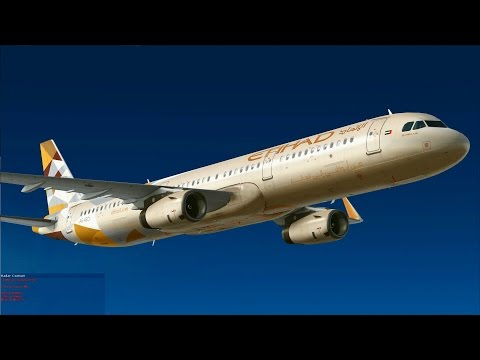 [FSX] Etihad from Cairo to Abu Dhabi