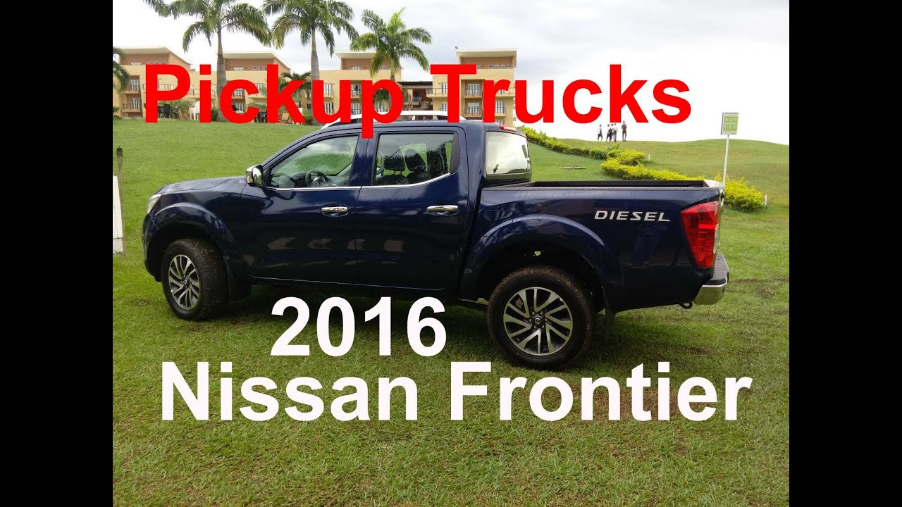 Nissan Frontier Lifted >> Review 2016 Nissan Frontier | 2017 Pickup Trucks - YouTube
