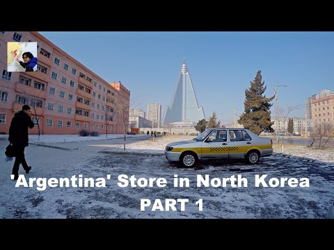'Argentina' Store in North Korea -  Part 1