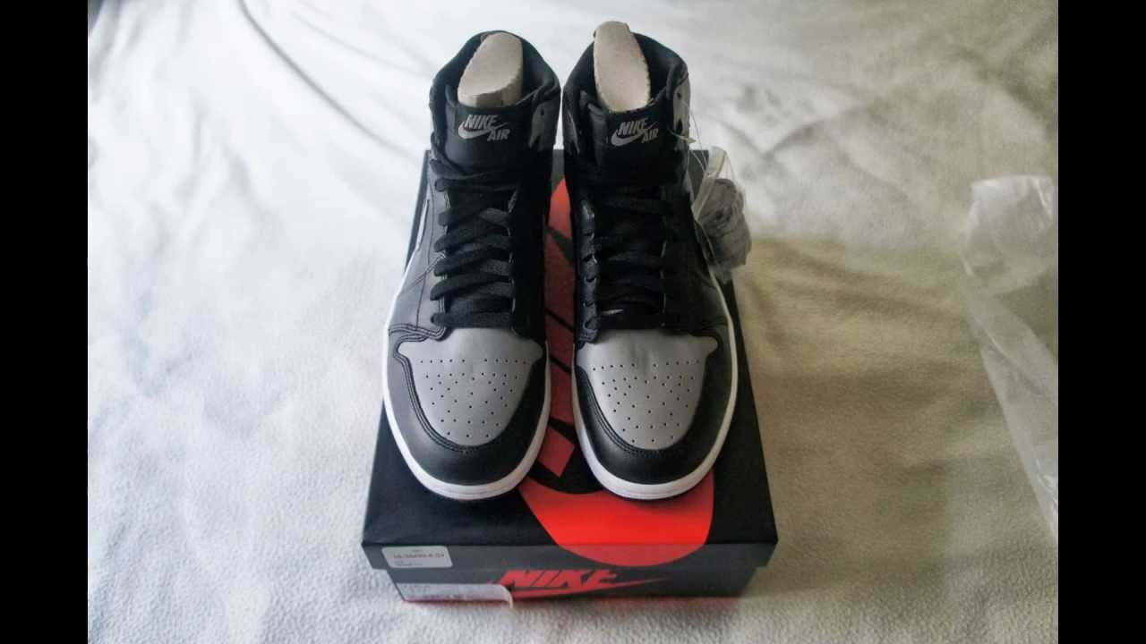 Air Jordan 1 Ombre Réelle Vs Faux