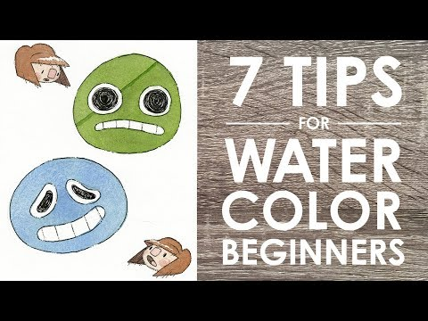 7 WATERCOLOR TIPS (For Beginners!)