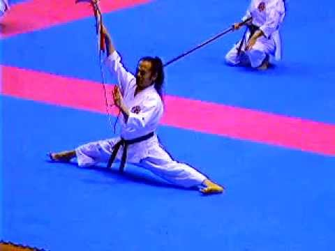 flying Kusarigama and Sakugawa no Kon