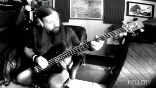 "Tool - ""ænema"" (Bass Cover) - with pick"