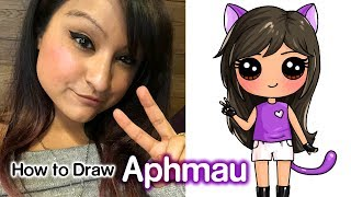 How to Draw Aphmau | Youtube Star