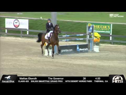 Exciting 9 Horse Jump Off at HITS Thermal