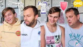 Quizzing the BOYS on FEMALE Products!
