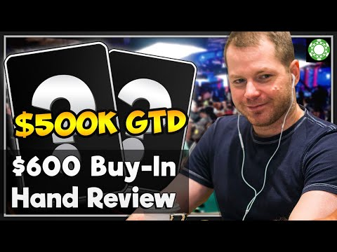 Small Stakes Live Tournament Review - WSOP-Circuit Foxwoods $500K GTD!