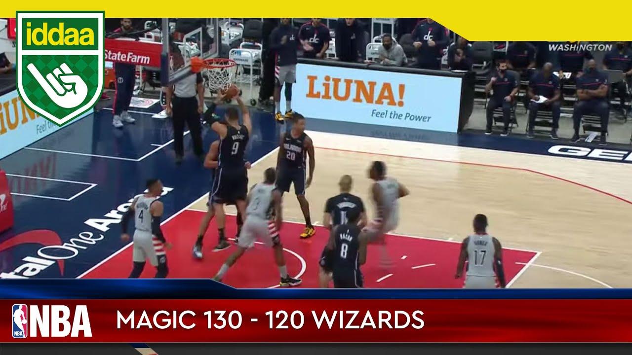 Orlando Magic – Washington Wizards Maç Özeti