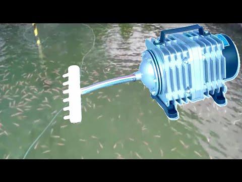 High Pressure Aquarium Fish Oxygen Pump |Episode 07| Electro Magnetic Air Comp Pump 220v 18W ACO-001