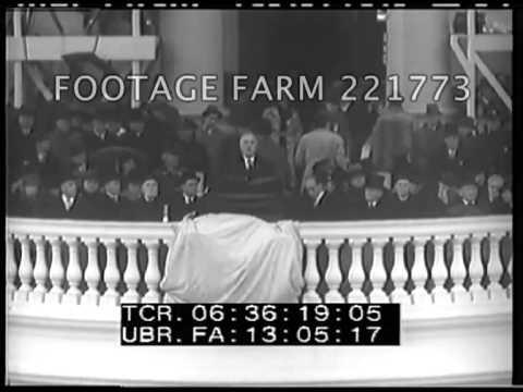 franklin roosevelt inaugural address summary