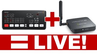 How to Live Stream with ATEM Mini and Webcaster X2