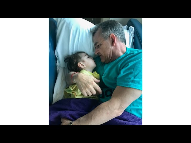 A dad reflects on living in the hospital. We just lived hour to hour.