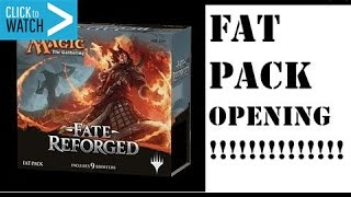 Fate Reforged Fat Pack Opening (9 Booster Packs)