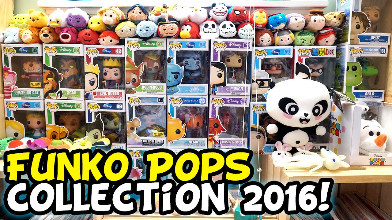 funko pop collection 2016 disney cartoon network marvel and more