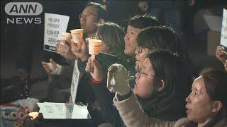 GSOMIA維持の決定に ソウルで賛否双方の集会(19/11/23)