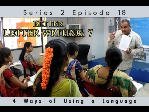 prakruthi n banwasis improve english through kannada s2 e18 better letter writing skills 7