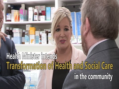 Minister intends Transformation of Health & Social Care in the Community