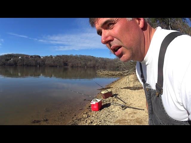 Bank Fishing For Catfish/Gone Wrong