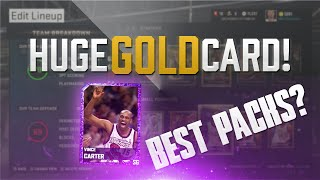 NBA 2K15 My Team Pack Opening - HUGE Gold Card + Best Packs in 2K15!  PS4