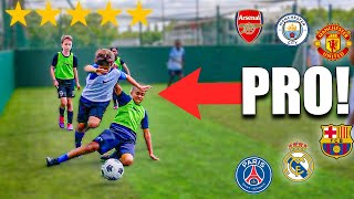 KID MESSI vs KID GREALISH I Challenged Kid PRO Footballers to A Football Tournament
