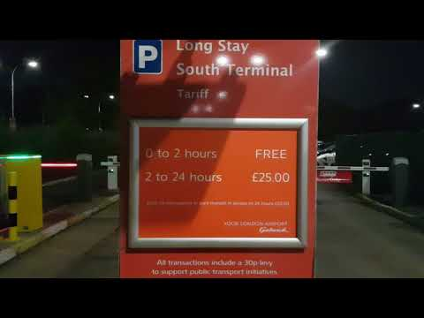 London Gatwick airport 2 hours FREE parking