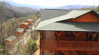 A City In The Mountains - Over looking homes in the Smokies. Gatlinburg, Tennessee. Travel. Real estate.