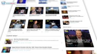 Шаблон сайта новостей Kingnews