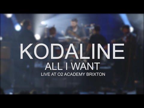 Kodaline - All I Want (Live @ O2 Academy Brixton)