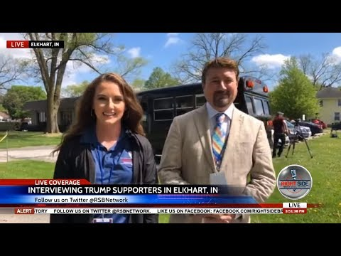Interviewing President Trump Supporters in Elkhart, IN 5/10/18