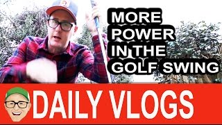 MORE POWER IN YOUR GOLF GAME Maybe