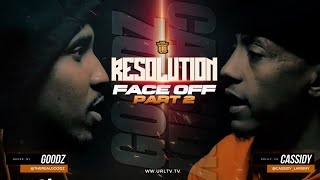 URL RESOLUTION FACE OFF: CASSIDY VS GOODZ PART 2 (4-27-19) | URLTV