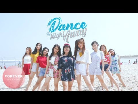 TWICE DANCE THE NIGHT AWAY DANCE COVER In PUBLIC INDONESIA