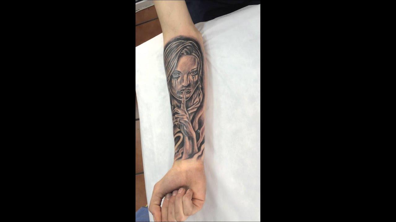 Tatuajes En El Brazo Sombras tattoo en el antebrazo a sombras realizado en: laz tattoo en isla