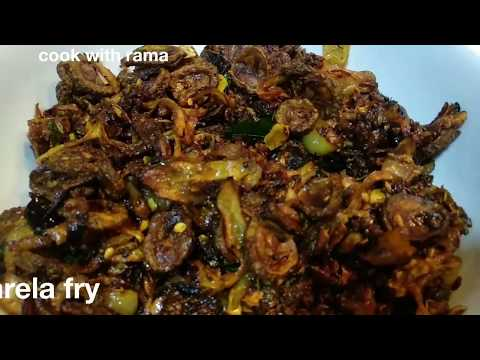 Crispy Karela Fry   Karele Ki Sabzi   बिना कडवा लगे सब्जी कैसे बनाए   cook with rama