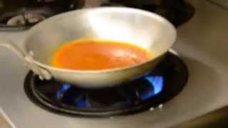 Miyuki's まかないDiary 3rd Lesson:ニンニクのトマトソースパスタ(熊本市東区健軍のカジュアルイタリアン・スプラウト)