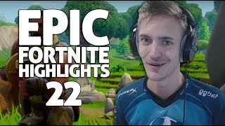 Ninja - Fortnite Battle Royale Highlights #22