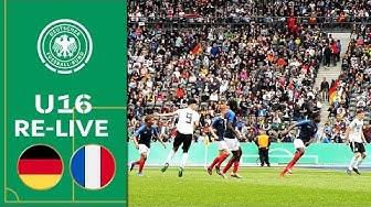 Deutschland - Frankreich 3:0 | Re-Live | U16 Länderspiel